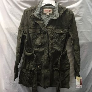 Mossimo supply co  hooded jacket sz L new